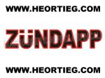 ZUNDAPP TANK AND FAIRING TRANSFER DECAL DZU19-9
